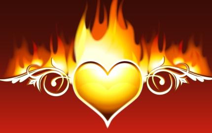 Heart on Fire for God